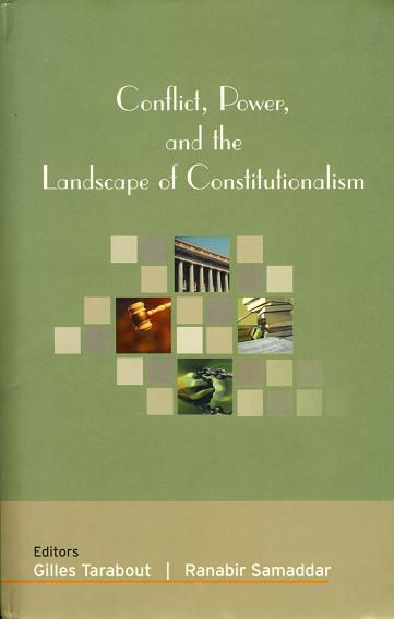 Couverture:Conflict, Power, and the Landscape of Constitutionalism
